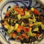 黒豆納豆のアボガド・サラダ