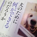 犬パワーに癒やされる介護職員