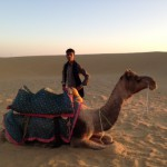 インドで砂漠リゾート発見。